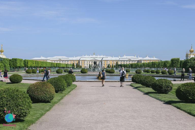 Верхний и Колонистский парки Петергофа