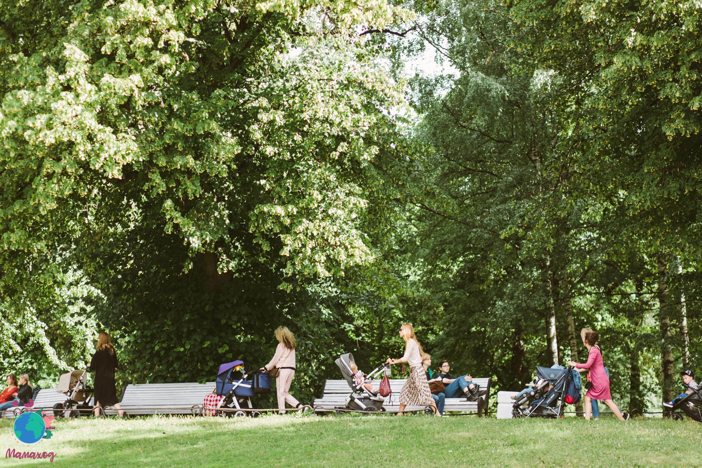 Семейный Мамаход вокруг Таврического сада