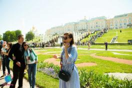 Петергоф: прощание с фонтанами