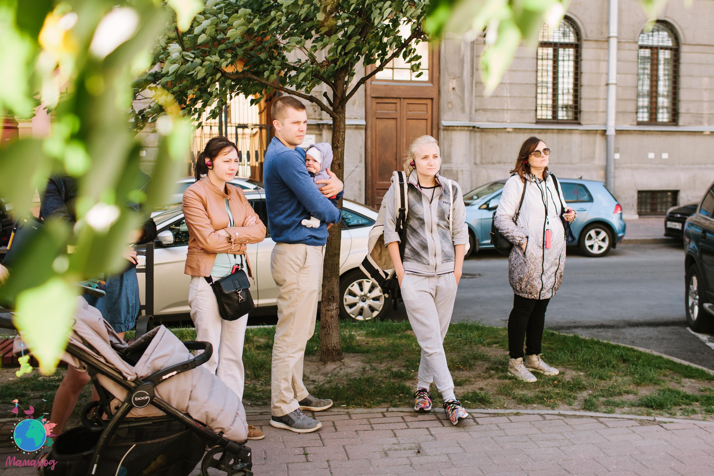 Мамаход вокруг Чернышевской (от Захарьевской до Оранжереи)