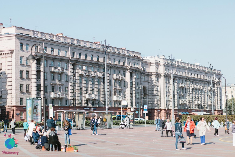 Мамаход по Московскому проспекту