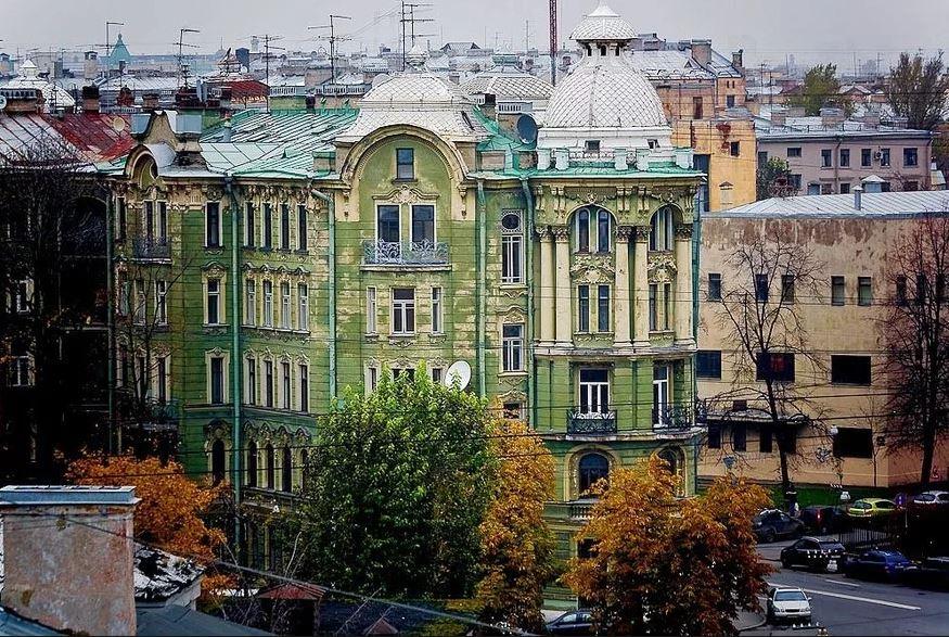 Мамаход по Городовому острову (Петроградская сторона)