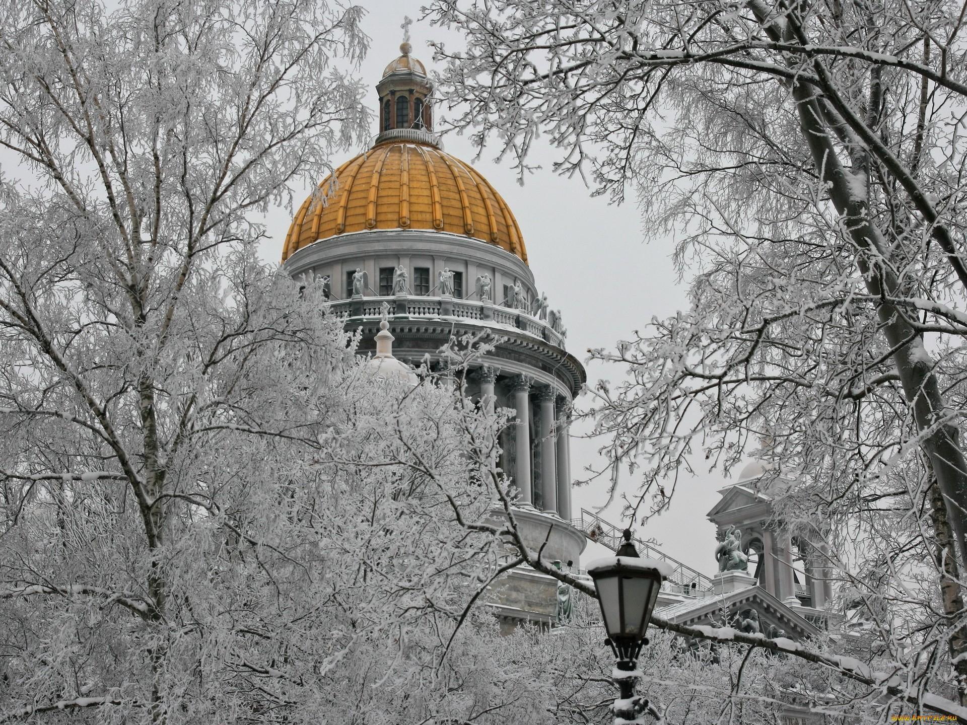 Открыткой, картинки исаакиевский собор зимой