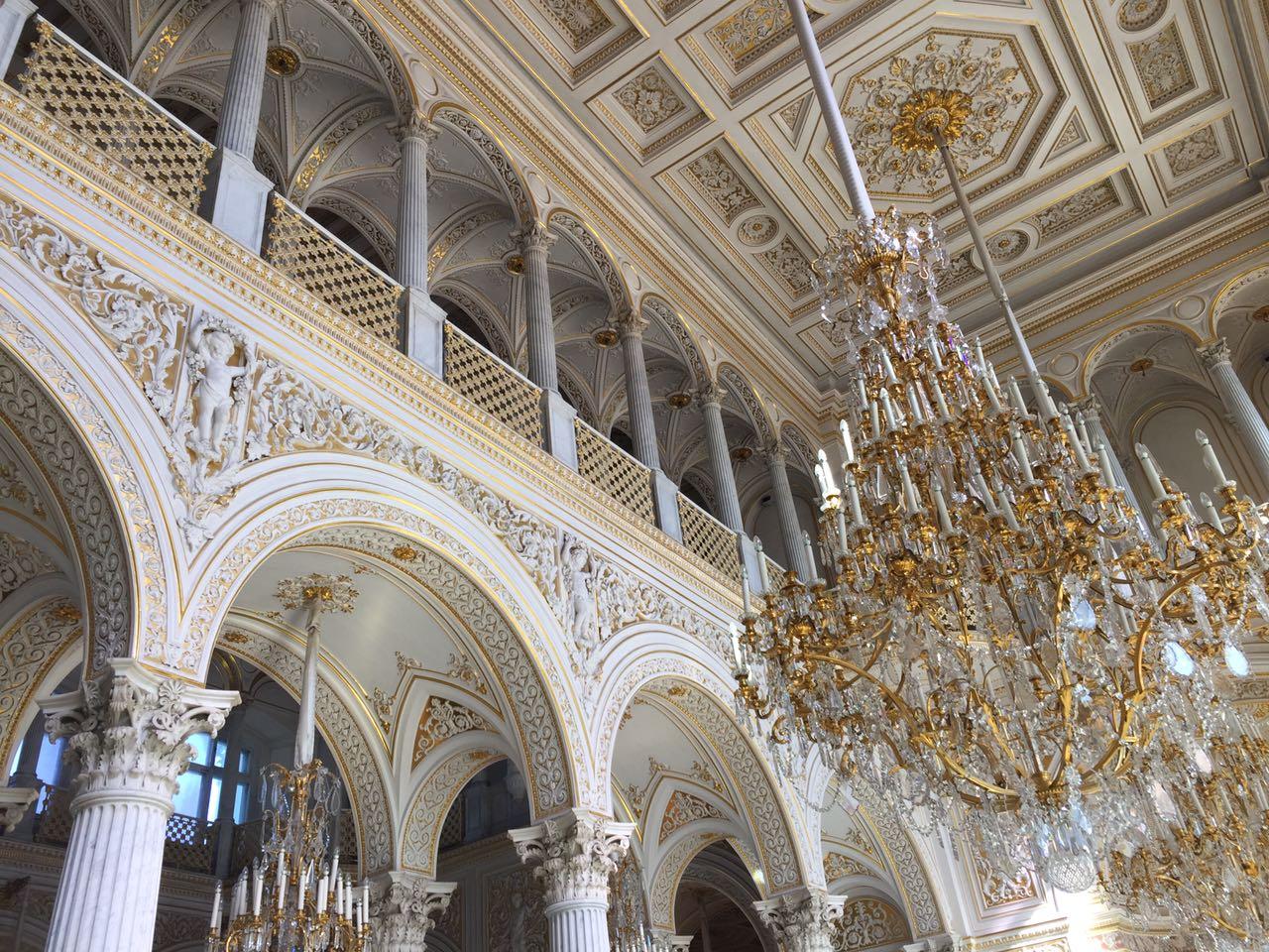 Эрмитаж: Парадные залы