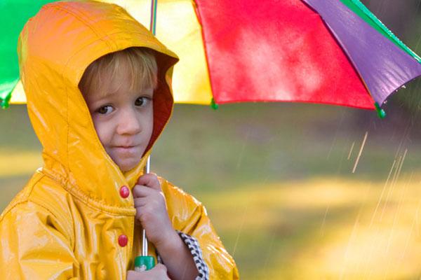 Куда пойти с малышом в непогоду
