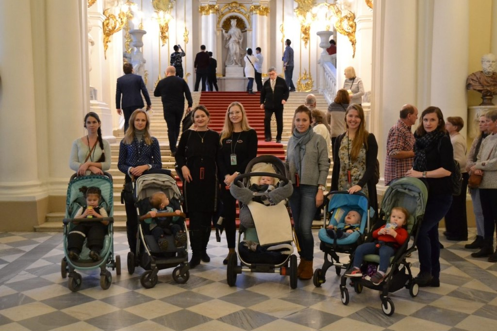 В музеи Петербурга с коляской