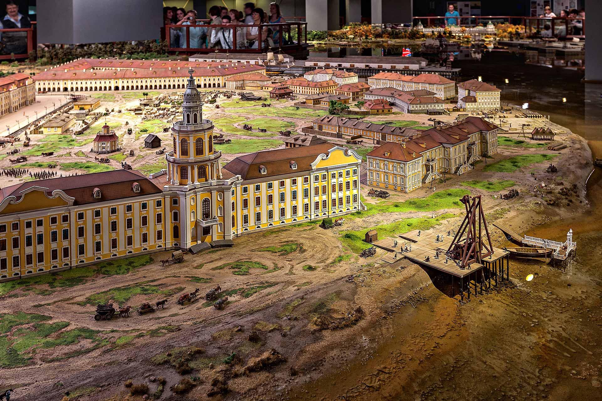 Обзорная экскурсия по Петербургу в музее «Петровская акватория»