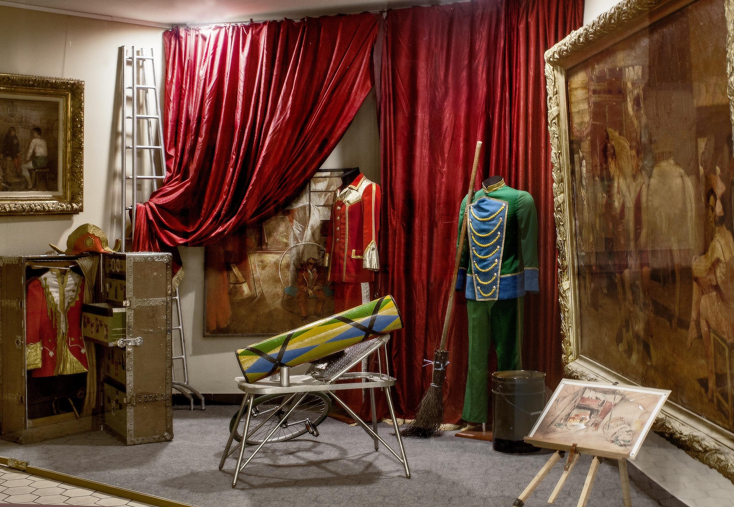 Арт — медиация в цирке Чинизелли