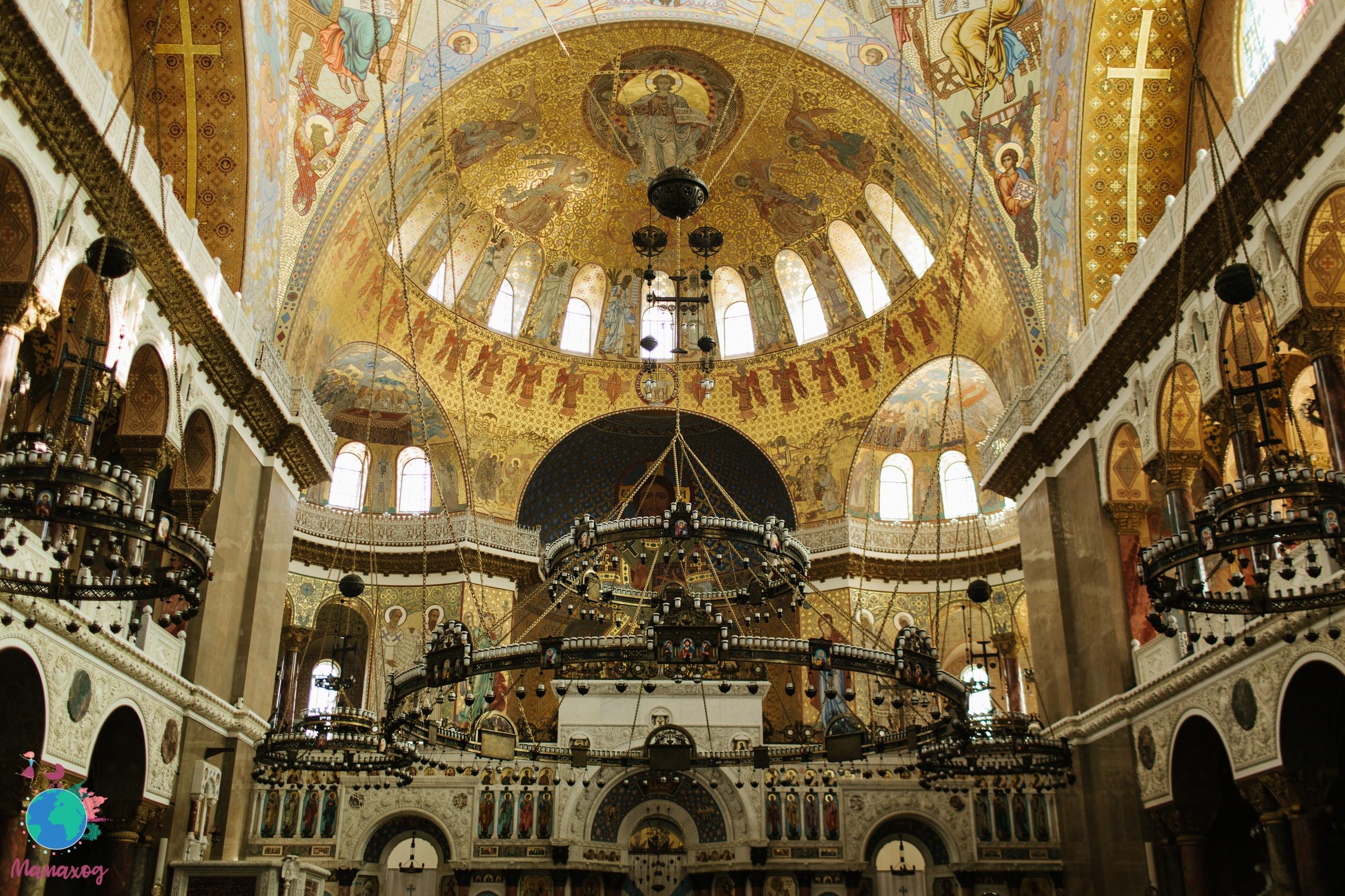 Мамаход по Никольскому морскому собору Кронштадта