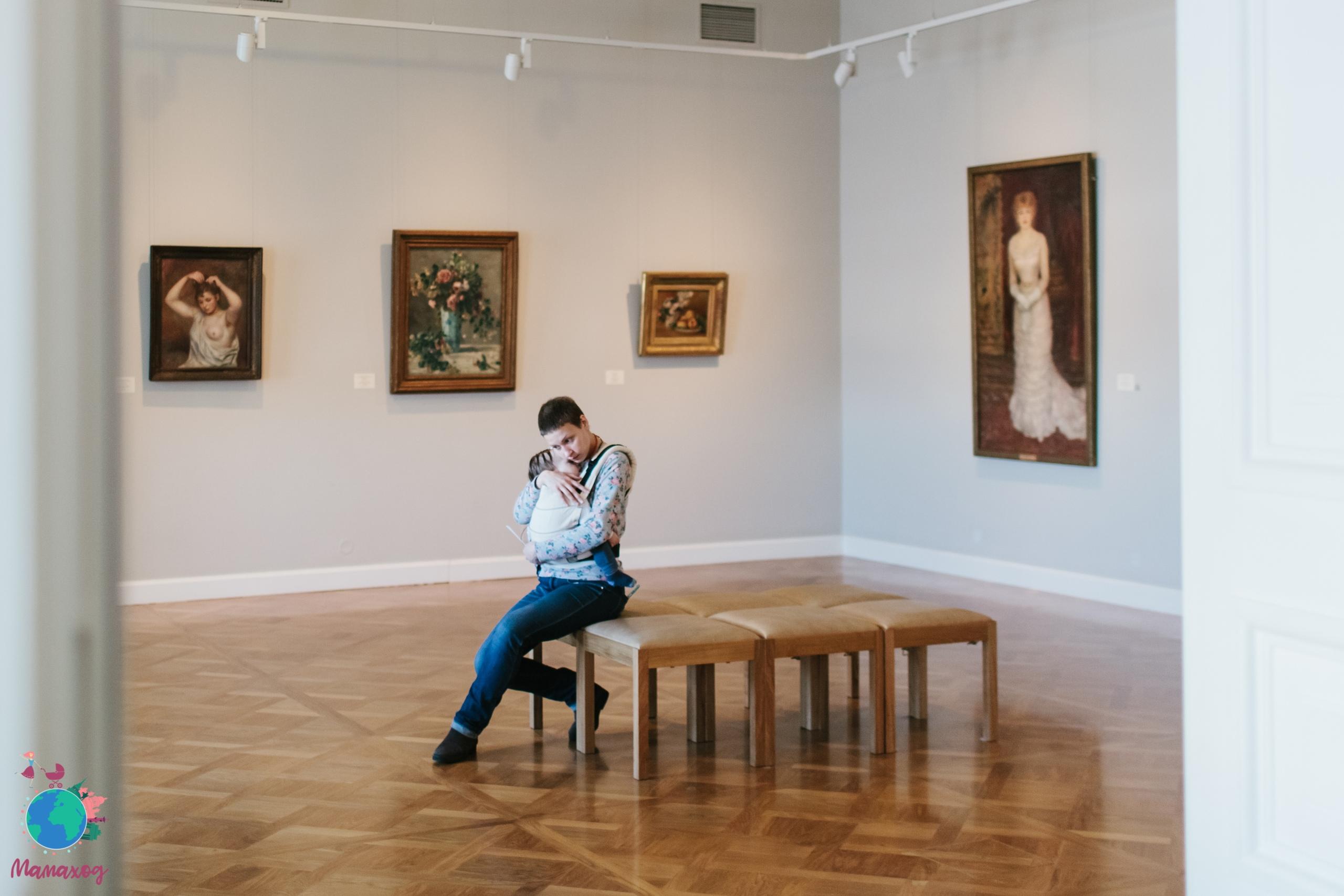 Как вести себя в малышом в музее