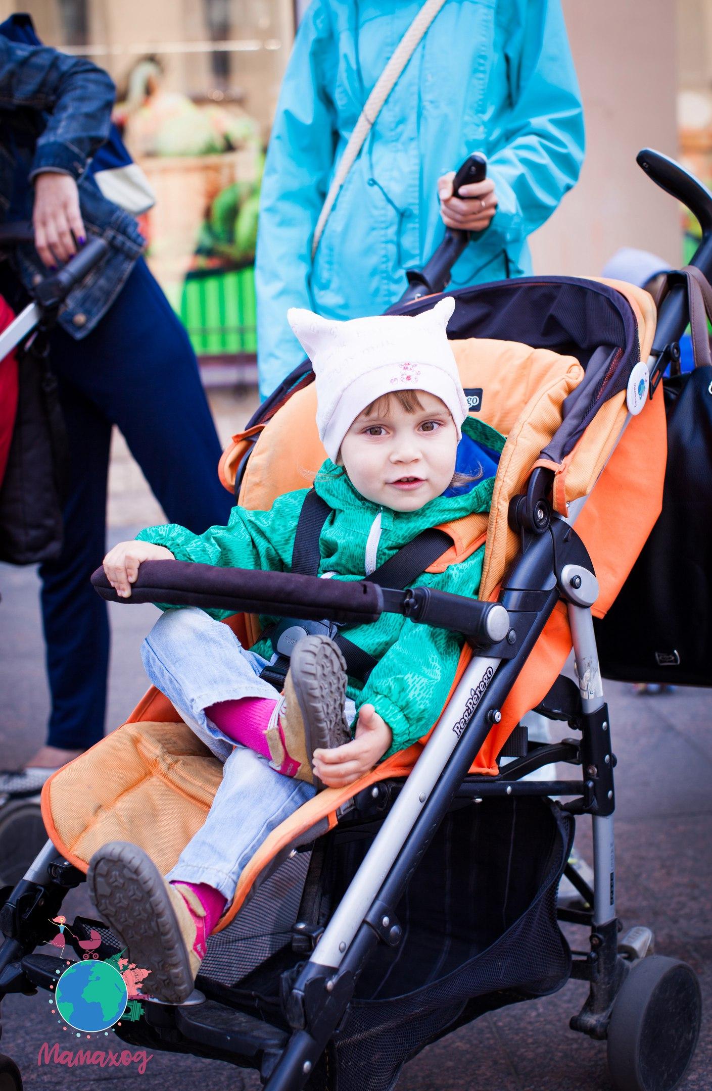 Чем занять малыша на прогулке «Мамаход»?