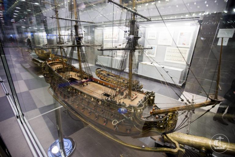 Папаход в Центральный музей военно-морского флота