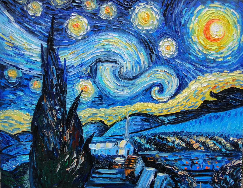 Mom&Art Hand Made. Делаем сумки в стиле Van Gogh