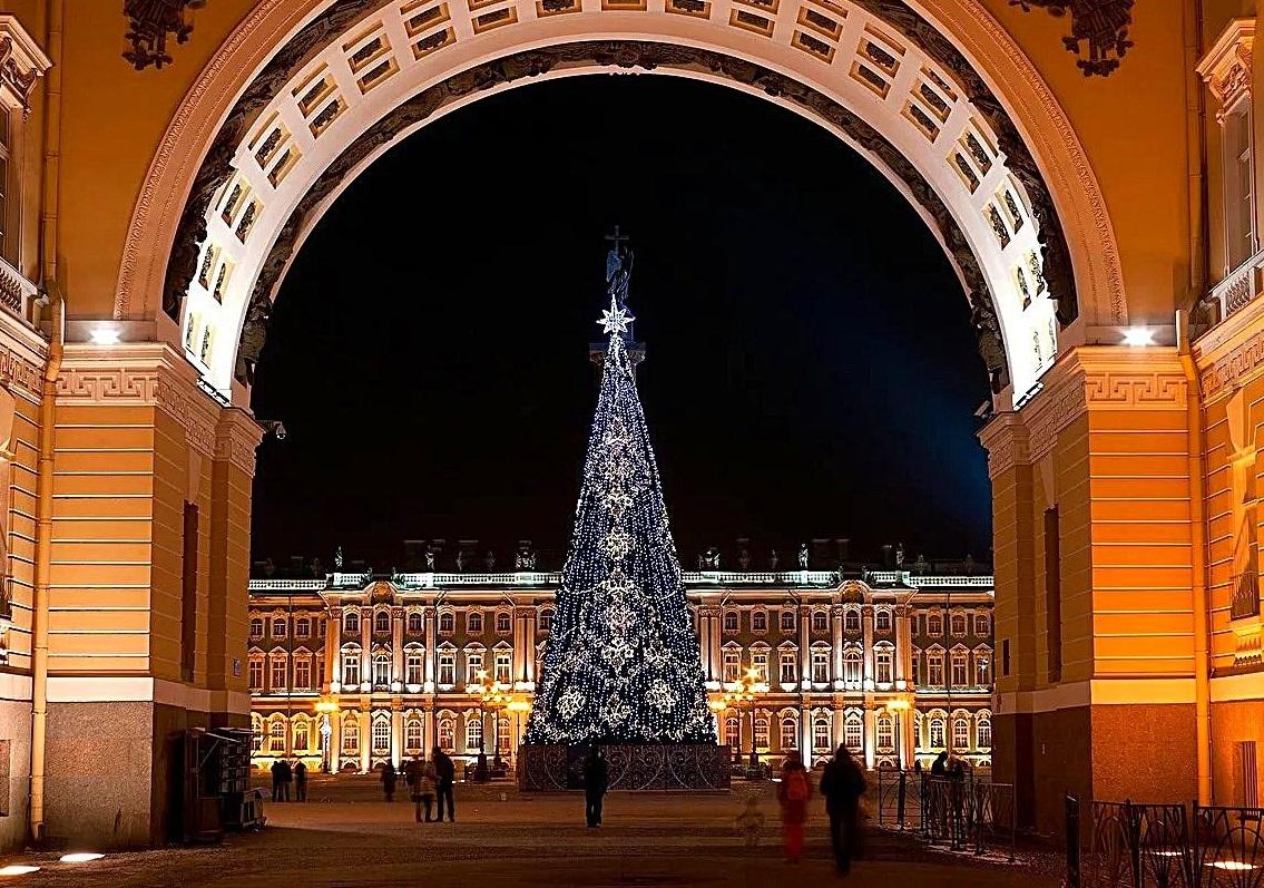 Рождественские традиции Зимнего дворца