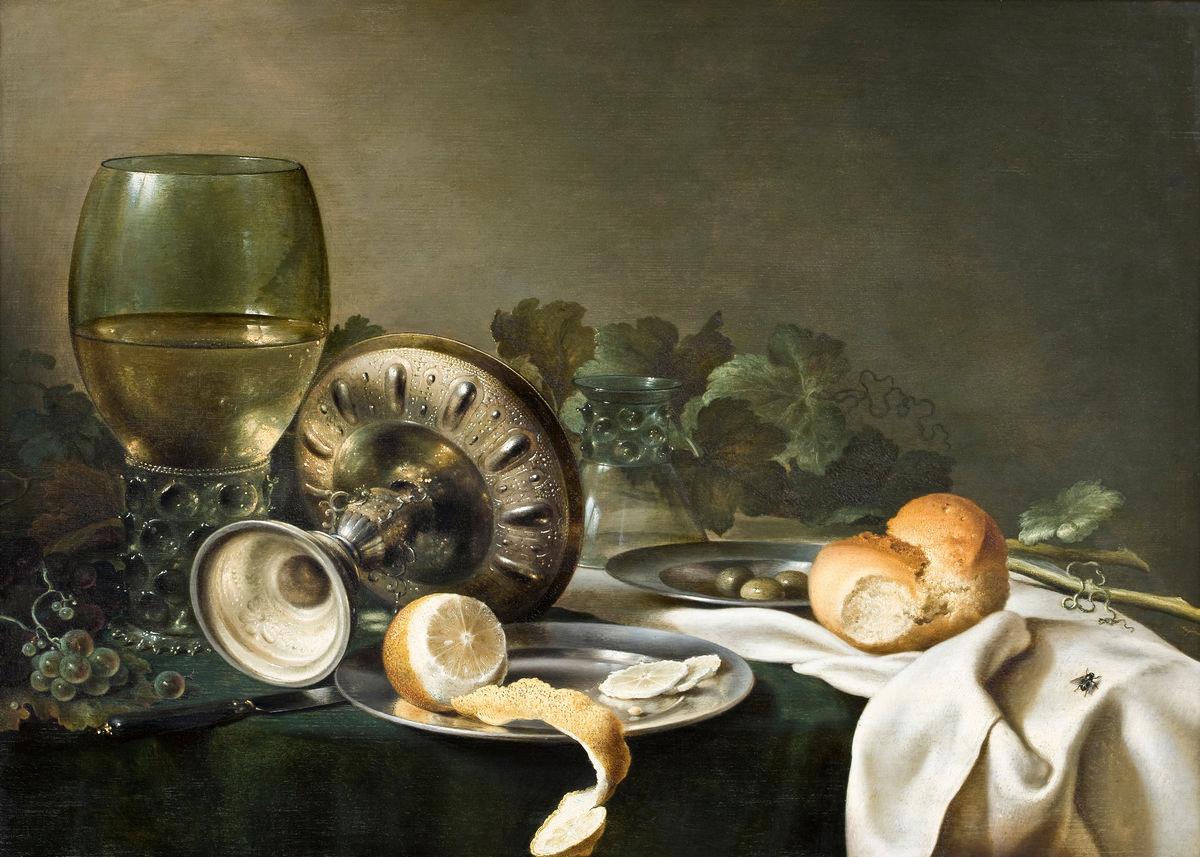 Мастер-класс «Голландский натюрморт (still life)»