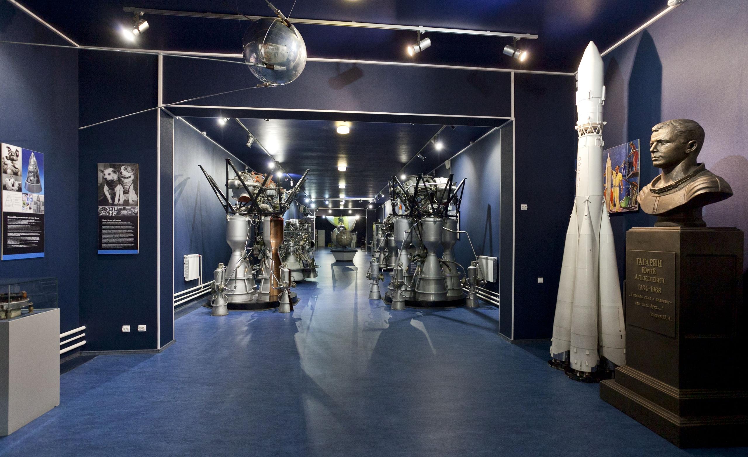 Папаход в музей космонавтики