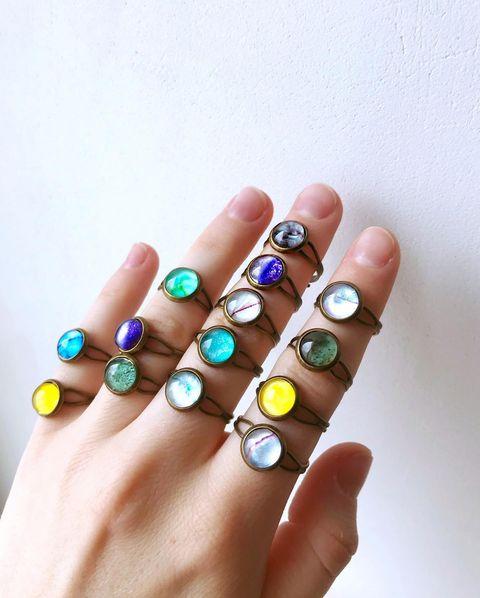 Мастер-класс по созданию авторских украшений (кольцо и серьги)