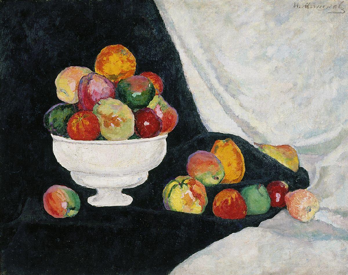 Мастер-класс пастелью «Натюрморт как в Русском музее»