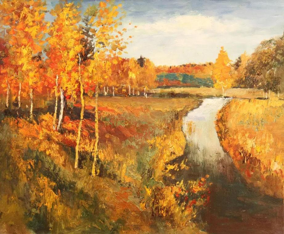 Мастер-класс + лекция «Левитан. Полотна. Золотая осень»